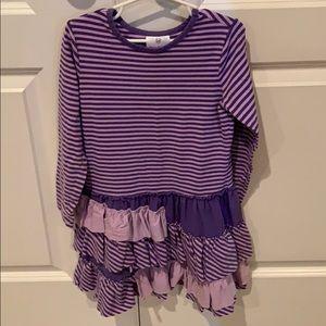 Hanna Andersson purple dress